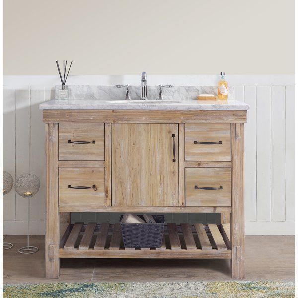 Union Rustic Loftin 42 Single Bathroom Vanity Set Reviews