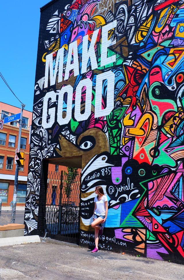 Make Good, Wall Art, Street Art, Colour, Graffiti, Type