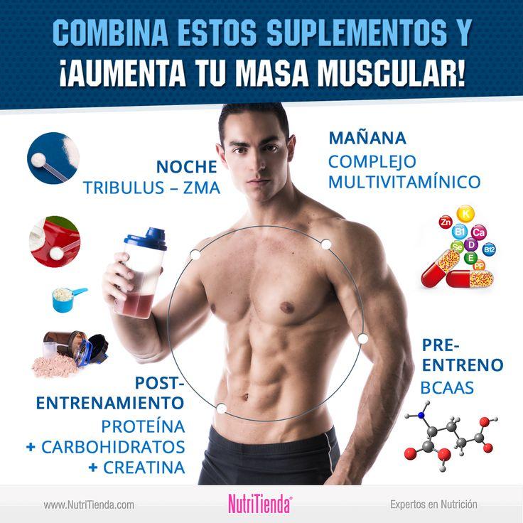 Si quieres aumentar tu masa muscular, tómate estos suplementos #fitness #motivation #motivacion #gym #musculacion #workhard #musculos #fuerza #chico #chica #chicofitness #chicafitness #sport #suplementos #masamuscular