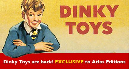 Dinky Toys are back! EXCLUSIVE to Atlas Editions.