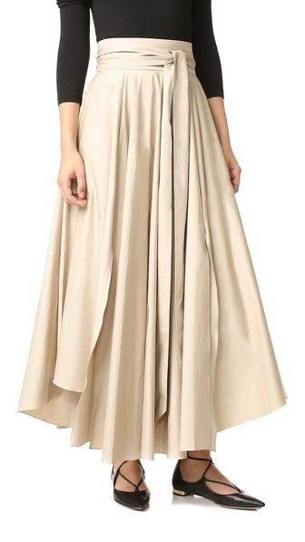Tibi Obi Skirt with Belt | SHOPBOP