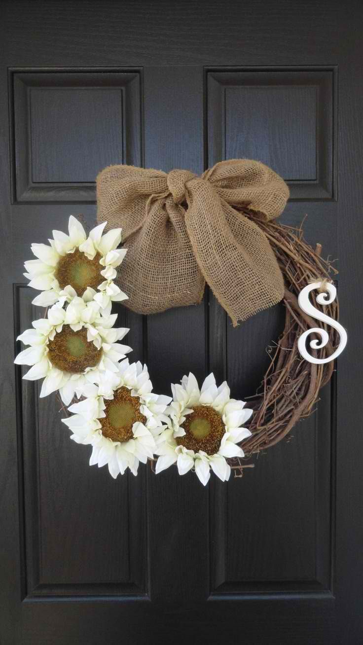 Summer front door decorations - I Need To Make Something Like This For My Front Door