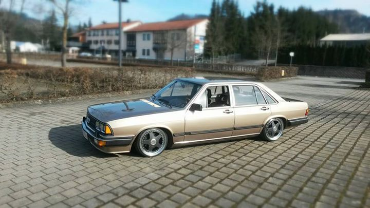 Harry's Audi 200 Typ 43 5E - Static and 17 wheels