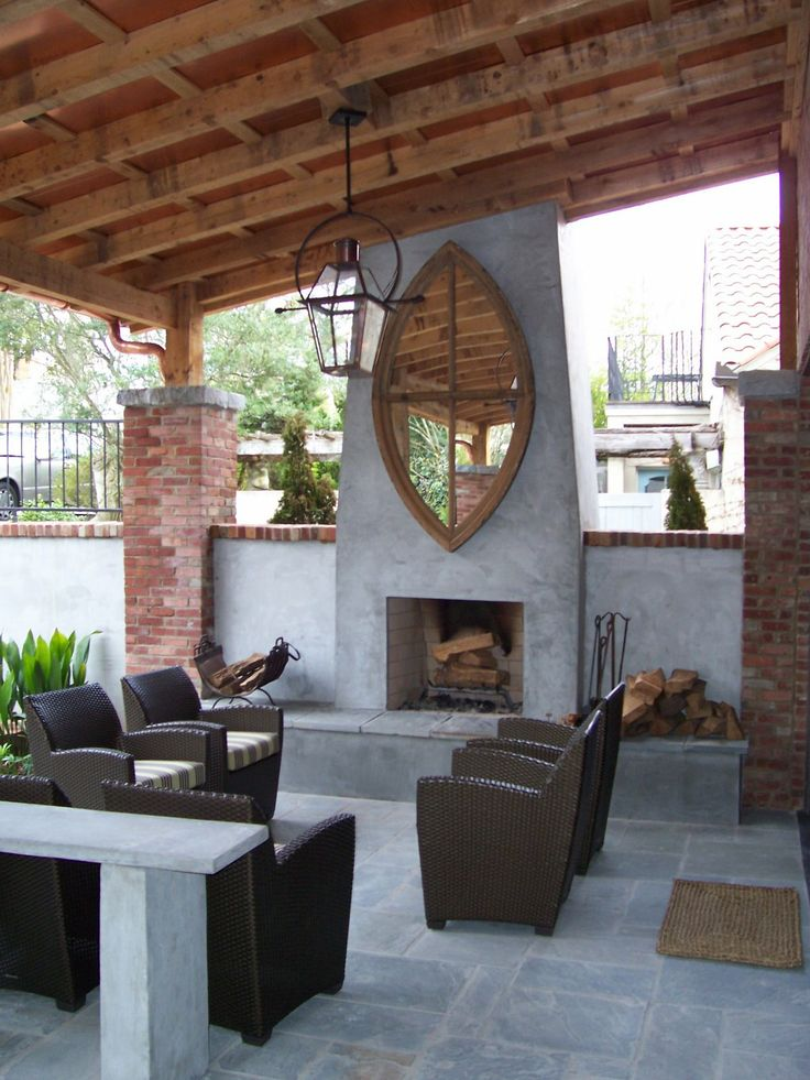 Fireplace profile - this is the shape I think combines my love of modern tho it needs stone and a different surround
