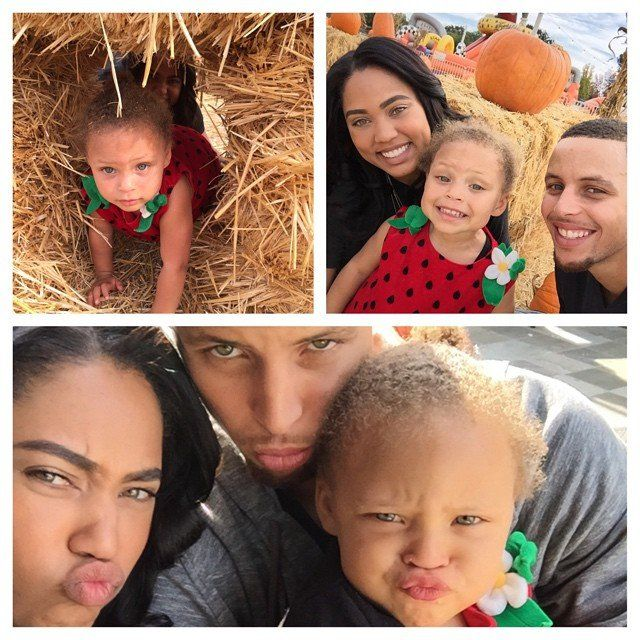 Celebrity & Entertainment | 64 Times Steph Curry's Adorable Family Totally Outshone Him | POPSUGAR Celebrity