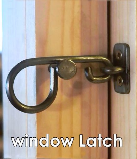 Inspired by the traditional Scandinavian window latches, they take the essence of these window latches using simple materials and metal working tools.