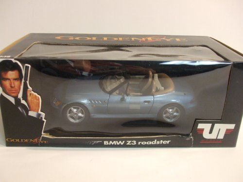 James Bond 007 Goldeneye BMW Z3 Roadster 1:18 Scale Diecast Car @ niftywarehouse.com #NiftyWarehouse #Bond #JamesBond #Movies #Books #Spy #SecretAgent #007