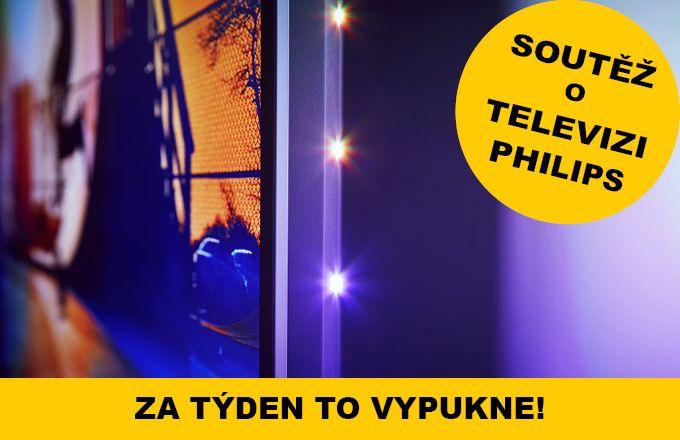 Týden do startu soutěže o TV Philips!