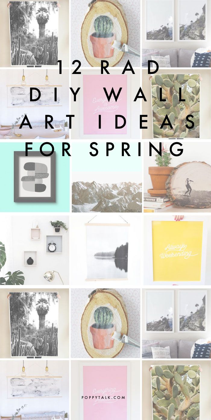 50 best decorate my walls images on pinterest painting drawings poppytalk amipublicfo Images