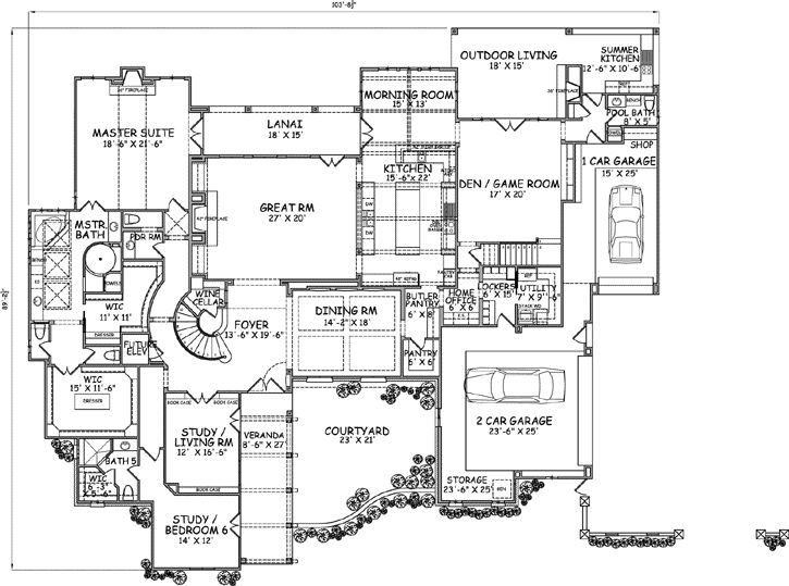 English country style house plans 7135 square foot home for English country house plans