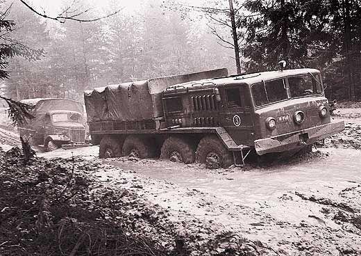 KrAZ 214 - Russian Army