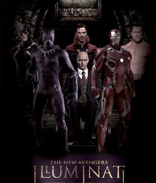 Would you like to see a New Avengers: Illuminati Marvel movie? #marvel #xman…