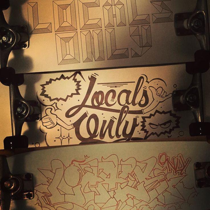 #skate #localsonlyss16 @tazio_mela #lasercut by fpicuti