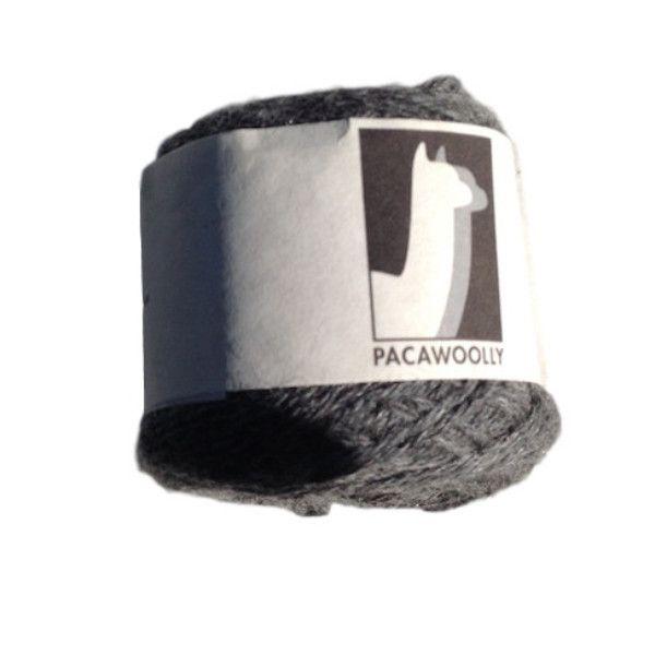 Pacawoolly Nadia, 100% Australian Alpaca, 4 ply, grey - I Wool Knit - 1