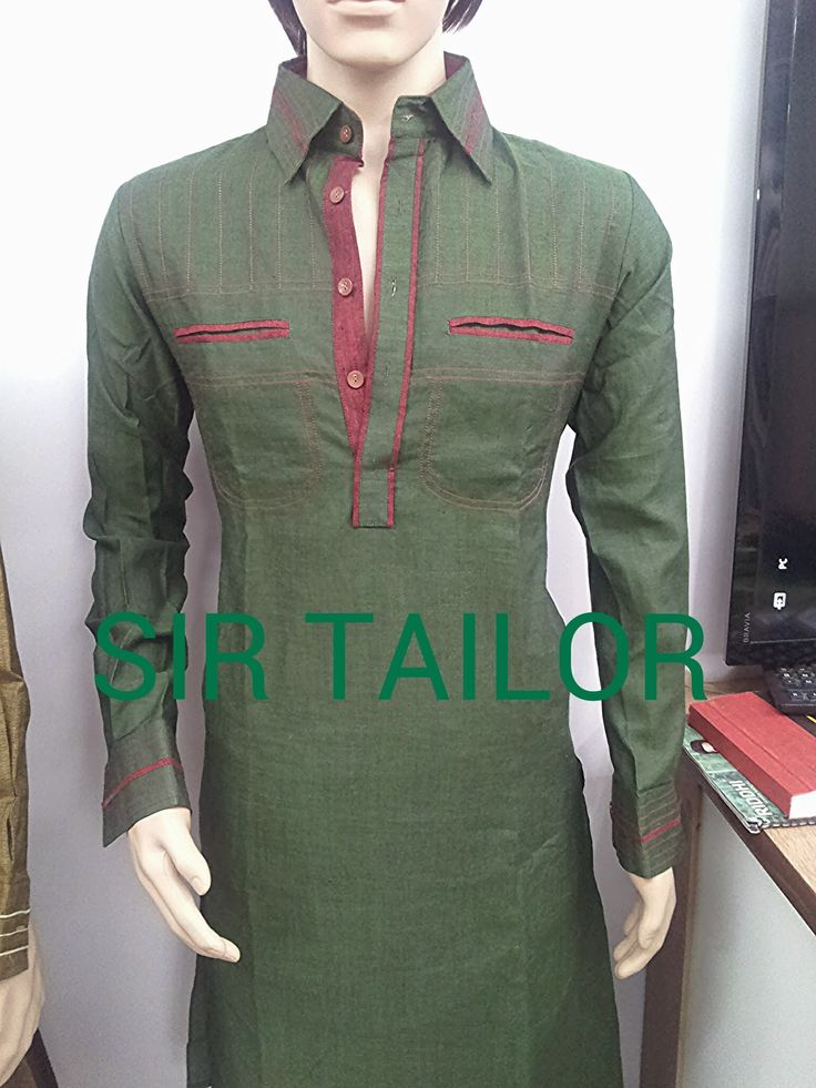 mens pathani designer and elegant look from SIR TAILOR ...