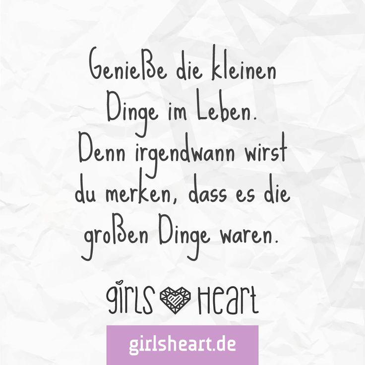 Im Rückblick erkennt man oft was wichtig war.  Mehr Sprüche auf: www.girlsheart.de  #zeit #wichtig #dinge #genießen