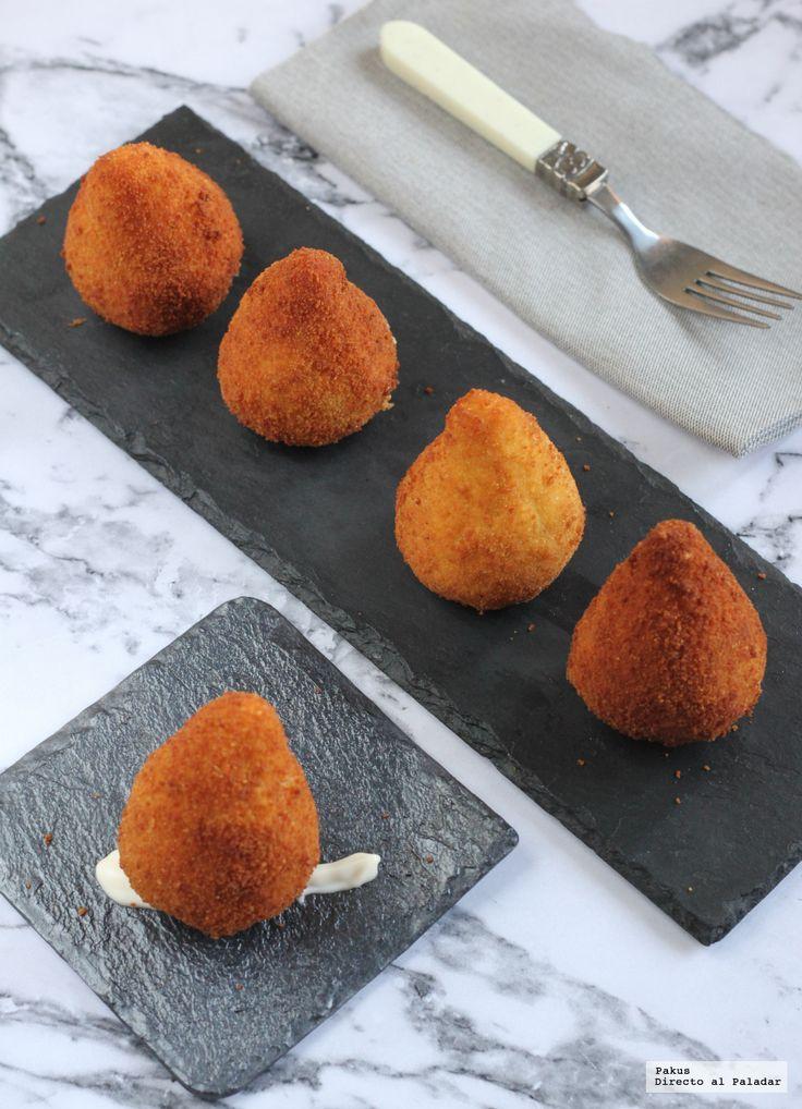 Hoy hemos preparado un delicioso bocado ideal para el aperitivo, o para una cena de picoteo. Se trata de la receta de coixinhas de frango, una rece...