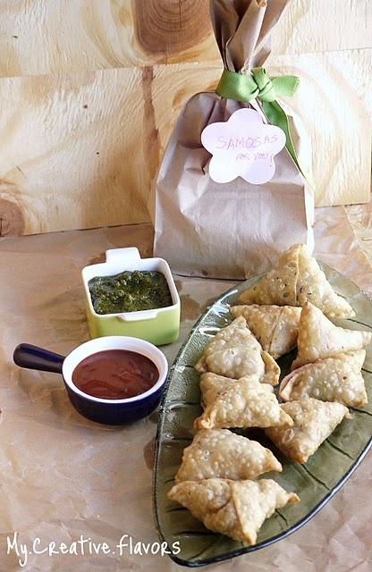 Samosas - wonderful Indian cuisine