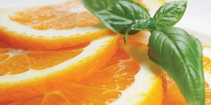 Orange and Basil for Your Skin? We Say, YES!