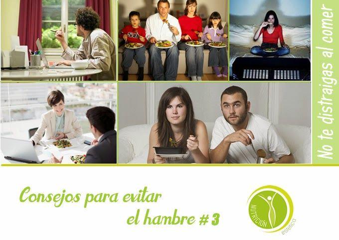 Consejos para evitar el hambre #3 #NutricionistaLima