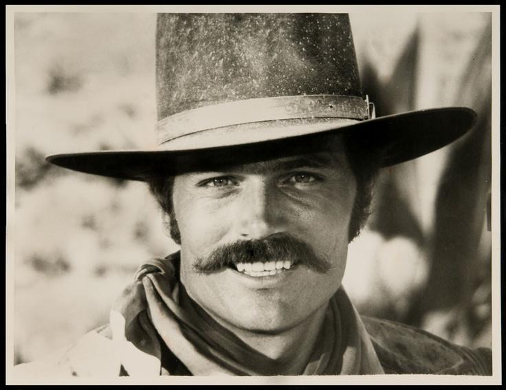This is Patrick Wayne from Big Jake. His father, John Wayne, passed on some good genes.