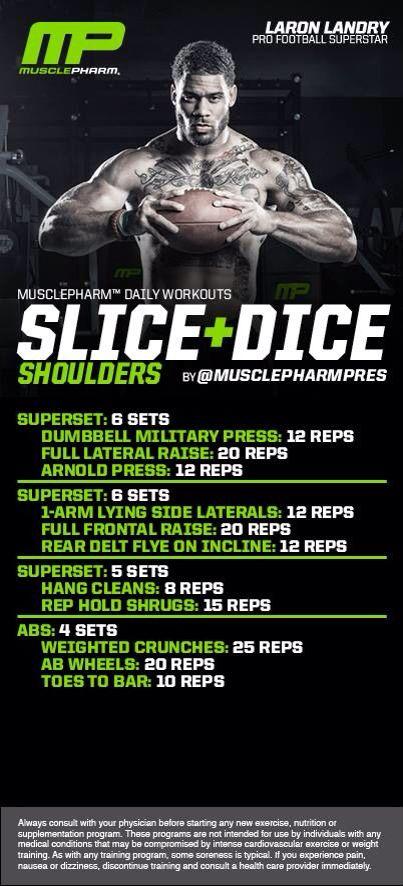 Muscle Pharm   Shoulders