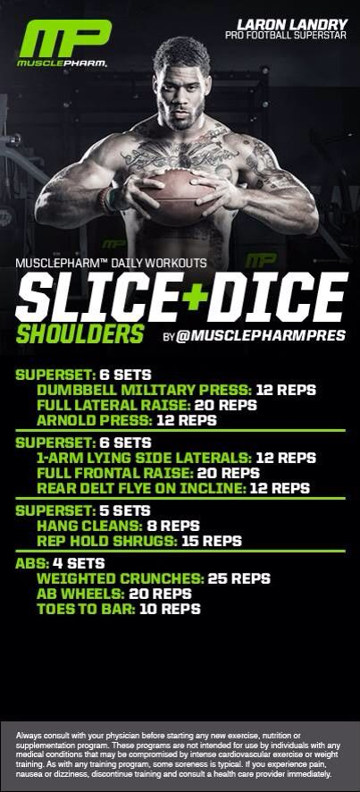 Muscle Pharm   Shoulders