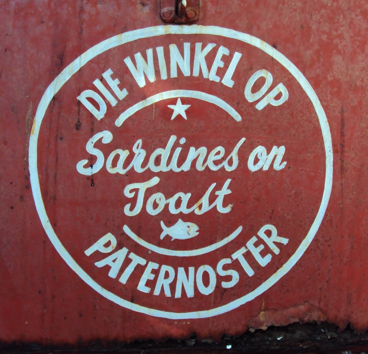 Shop sign in Paternoster