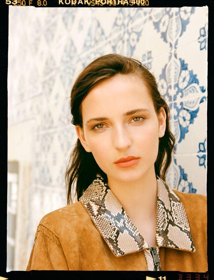 Photography: Pablo Curto. Styled by: Sophie Warburton.Hair: Simon Khan. Model: Waleska Gorczevski at Viva.