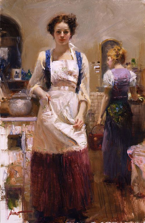 The Country Chef by PINO Daeni http://www.russianpaintings.net/russian_paintings.vphp?=867=12=0 & http://www.pino-artist.com/ (Thx Julie M)