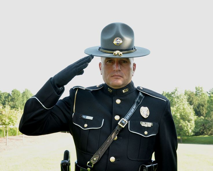 Kentucky State Police Honor Guard.. Lol just ran across this pic of Joe.