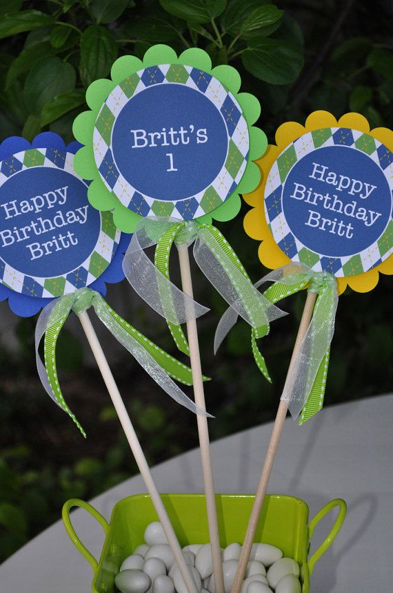 19 best Jacks 1st Birthday images on Pinterest Birthdays Golf