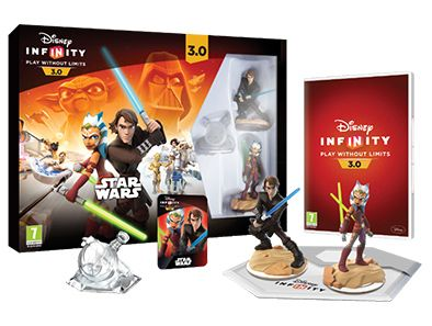 Star Wars joins Disney, Pixar, and Marvel characters in the ever-expanding multiverse of Disney Infinity 3.0 Edition! Take on larger-than-life adventures and play your own way as you progress through story-based Play Sets and the open world Toy Box!