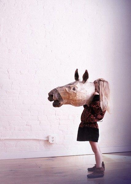 ace commune: Horse Head, Horses, Art, Paper Mache, Play, Kids, Papier Mache, Animal