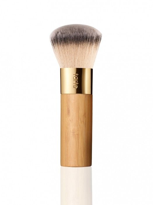 Tarte Bamboo Foundation Brush--obsessed with this brush. It is amazing. So soft and great. Blends in so nicely. But I recommend keeping it in the box that it comes in otherwise the bristles get all bent.