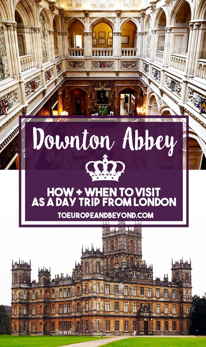 Everything you need to know in order to visit Downton Abbey filming locations, whether you're going by yourself or with a guided tour. Oh, and plenty of photos! http://toeuropeandbeyond.com/how-to-visit-downton-abbey-and-almost-have-tea-with-with-lady-violet/ #travel #DowntonAbbey #England