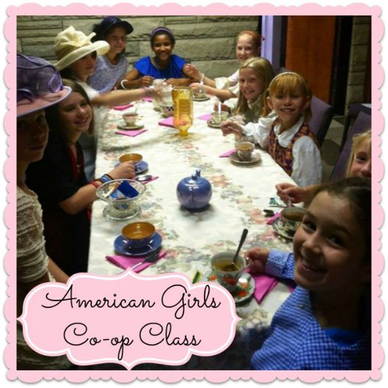 American Girls Homeschool Co-op Class has ideas for crafts and activities for four of the American Girl dolls and their time period