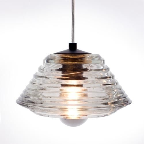 Pressed Glass Pendant - Bowl