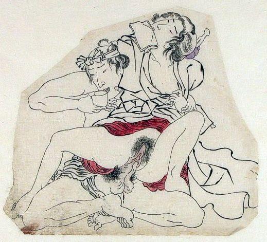 Shunga arte erótico japonés