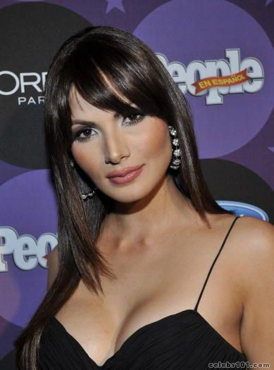 Cynthia Enid Olavarría Rivera (born January 28, 1982) is a Puerto Rican actress, television host, fashion model, and former Miss Puerto Rico who competed in the Miss Universe 2005 beauty pageant.