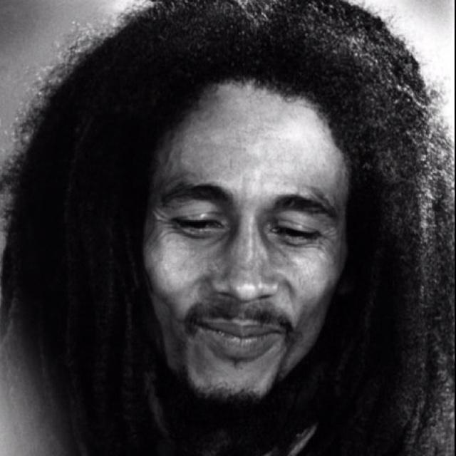 "Robert ""Bob"" Marley for peace."