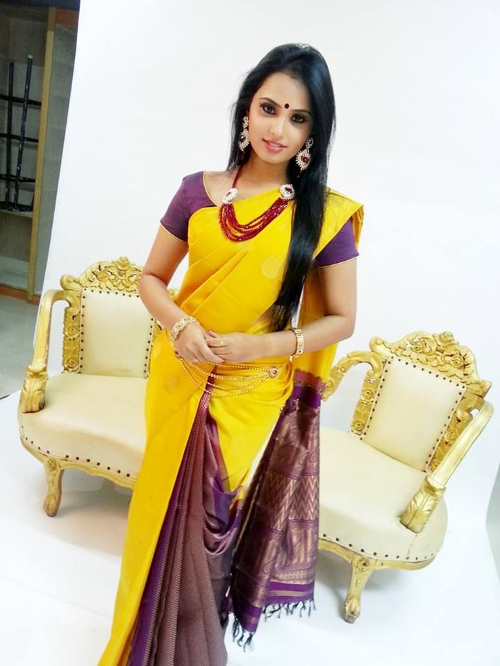 Aarushi Saree Photoshoot in Bangalore
