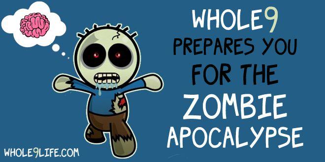 cdc zombie apocalypse survival guide