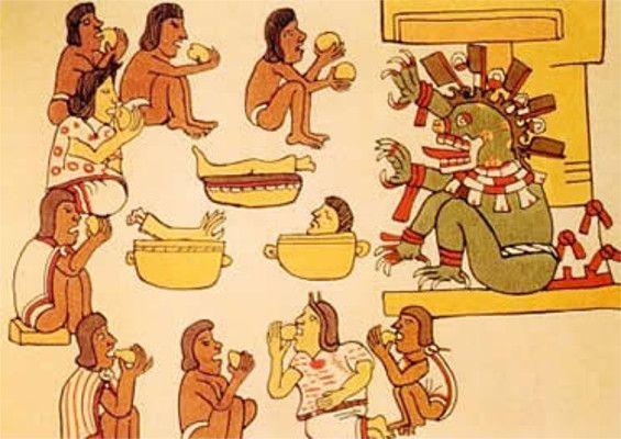 Prática religiosa da civilização asteca