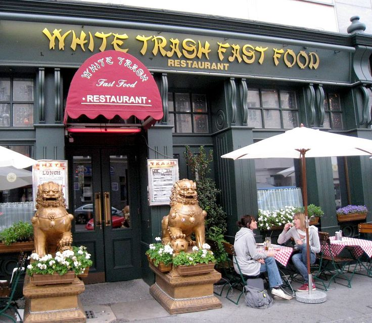 White Trash Fast Food restaurant located in Berlin.