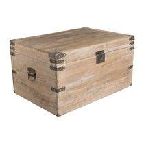 Sloophouten kist - 76x52x41.5 cm