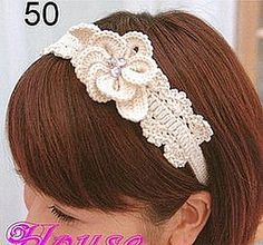 Diadema en ganchillo, patrón gratuito - Free Crochet Pattern Headband