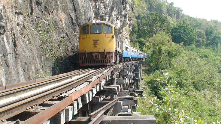 Death Railway and the Bridge over the River Kwai