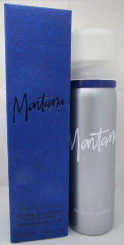 MONTANA Paris Moisturizing Body Foam Mousse by Claude Montana Parfums 45 oz 150ml ** Visit the image link more details.