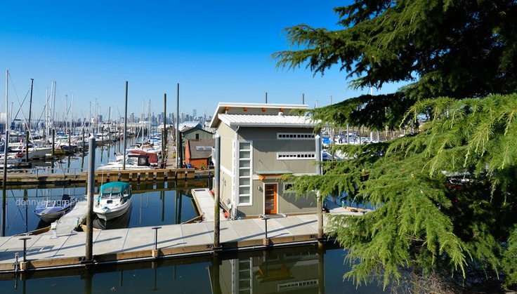 A picture of a Spirit Trail Ocean home at The Creek in North Vancouver BC. We what a view